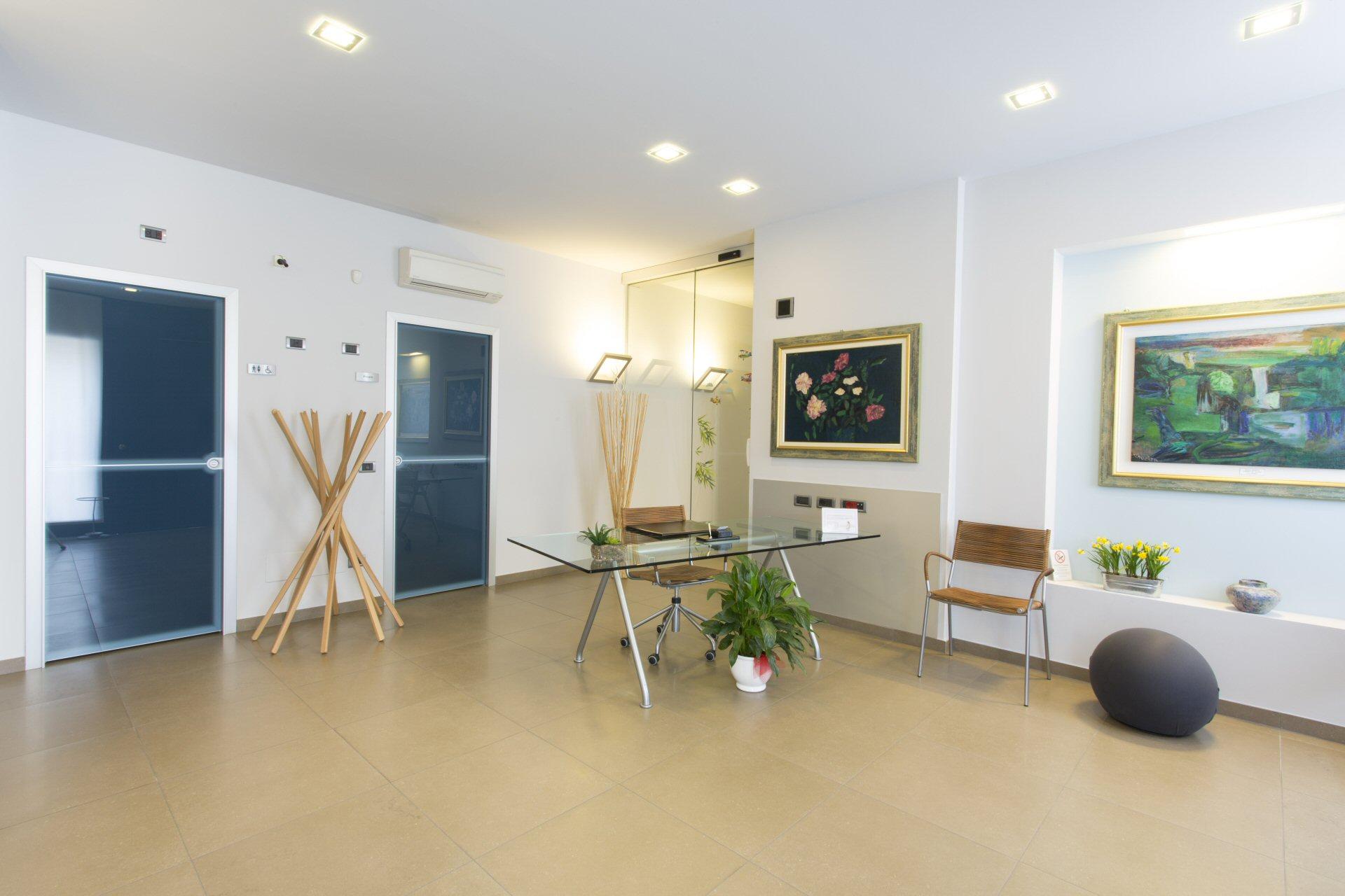 La Sala D Attesa.I Locali Dello Studio La Sala D Attesa Studio Dentistico Dassi